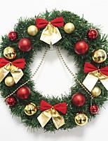 1pc noël ornements guirlande pour les décorations de vacances 30 * 30