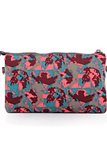 Women Bags Summer Nylon Clutch Zipper for Casual Red Military Green Purple Fuchsia