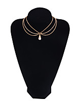 Women's Choker Necklaces Geometric Copper Fashion Jewelry For Gift Daily