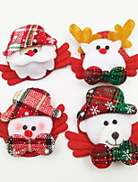 4 PCS/Set Luminous Christmas Brooch