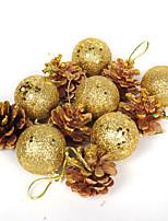 12pcs Noël Décorations de NoëlForDécorations de vacances 16*8*4
