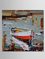 Handgemalte Abstrakt Modern Ein Panel Leinwand Hang-Ölgemälde For Haus Dekoration