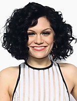 cheap -Women's Synthetic Wig Black Short Curly Hairstyles Capless Wigs  Natural Wigs Costume Wigs