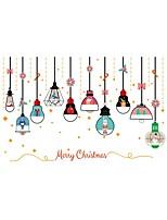 preiswerte -Art Deco Weihnachten Fenster-Aufkleber,PVC Stoff Fensterdekoration