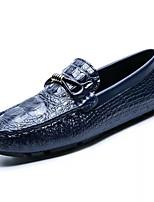 Homme Chaussures Similicuir Printemps Automne Semelles Légères Mocassins et Chaussons+D6148 Noeud Billes Pour Décontracté Blanc Noir Bleu