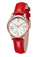 Women's Casual Watch Fashion Watch Dress Watch Wrist watch Quartz Calendar Genuine Leather Band Casual Cool