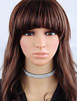 Жен. Ожерелья-бархатки , Круглый Ткань Мода Бижутерия Назначение Повседневные