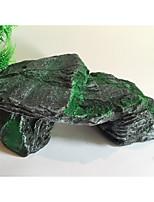 Оформление аквариума Камни Резина