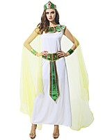 cheap -Vintage Ancient Egypt Ancient Rome Costume Women's Outfits White Vintage Cosplay Polyster Sleeveless Ankle Length