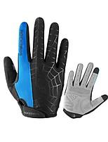 Спортивные перчатки Перчатки для велосипедистов Дышащий Защита от солнечных лучей Полный палец Сетка Велосипедный спорт / Велоспорт