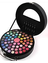 Paleta de Sombras Brilho Paleta da sombra Pó Maquiagem para o Dia A Dia
