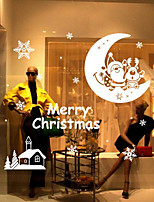 Christmas Wall Stickers Oolong Tea Decorative Wall Stickers,Bonded Material Home Decoration Wall Decal