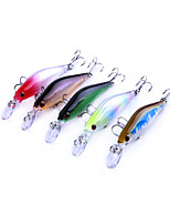 5 pcs Fishing Lures Minnow g/Ounce mm inch,Plastics Lure Fishing