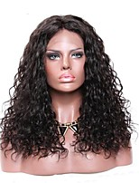 cheap -Premierwigs 360 Lace Frontal Wigs Brazilian Unprocessed Human Hair For Afican American Women Curly Wave