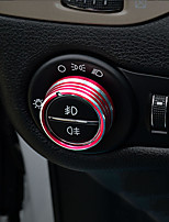 preiswerte -Automobil Scheinwerfer-Knopfleisten Autoinnenräume zum Selbermachen Für Jeep Alle Jahre Cherokee Metall