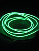 BRELONG 5m  EL LED Neon Cold Strip Light - Battery case  No battery