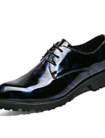 cheap -Men's Shoes Real Leather Customized Materials Leatherette Winter Fall Formal Shoes Comfort Oxfords for Office & Career Party & Evening