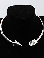 Women's Choker Necklaces Alloy Punk Personalized Jewelry For Daily Casual