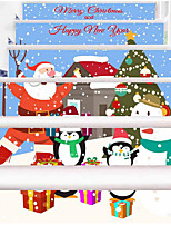 Christmas Wall Stickers Plane Wall Stickers Decorative Wall Stickers,Paper Material Home Decoration Wall DecalFor