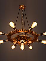 Недорогие -Ретро Подвесные лампы Назначение кафе AC 220-240 AC 110-120V Лампочки не включены
