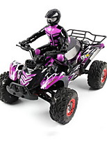 baratos -Carro com CR SYMA FY04 Canal 4 2.4G Off Road Car 1:12 Electrico Escovado 30 KM / H