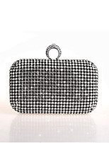 cheap -Women Bags Glasses Evening Bag Crystal Detailing for Wedding Event/Party All Season Gold Black Silver