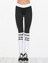 Per donna Collant da corsa Yoga Fitness Calze/Collant/Cosciali Yoga Pilates Esercizi di fitness Elastene Taglia piccola S M L
