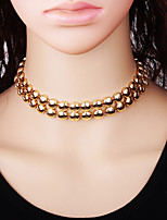 Women's Choker Necklaces Alloy Choker Necklaces , Fashion Gift Daily