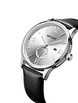 Men's Casual Watch Fashion Watch Dress Watch Wrist watch Quartz Calendar Leather Band Casual Cool