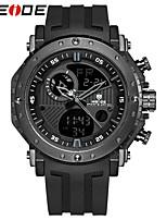WEIDE Men's Sport Watch Fashion Watch Dress Watch Digital Watch Japanese Digital Calendar Water Resistant / Water Proof Dual Time Zones PU