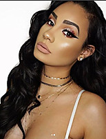 cheap -Full Lace Super Natural Body Wave Lace Wig Human Virgin Hair for Black Women
