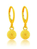 Women's Drop Earrings Vintage Elegant Gold Plated Drop Jewelry For Wedding Evening Party