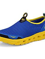 Masculino sapatos Tule Primavera Outono Conforto Mocassins e Slip-Ons Para Casual Cinzento Escuro Cinzento Claro Azul Real