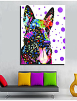 Stretched Canvas Print Comtemporary,One-piece Suit Canvas Vertical Panoramic Oil Painting Wall Decor For Home Decoration