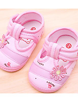 cheap -Baby Shoes Fabric Spring Summer Comfort Flats For Casual Light Blue Pink Beige
