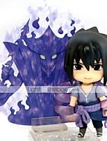 Figures Animé Action Inspiré par Naruto Sasuke Uchiha 10 CM Jouets modèle Jouets DIY