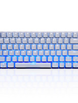 AJAZZ-AK33 Ice Version Of The  Keyboard Game Keyboard USB Monochromatic Backlight 108