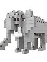 cheap -Building Blocks Toys Elephant Animals Cartoon Animal Animals Animal Animals DIY Kids 100 Pieces