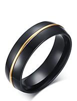 abordables -joyería plateada oro elegante del círculo del acero titanium de la vendimia de los hombres para la tarde de la boda del partido