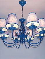 Moderne/Contemporain Lustre Pour Salle de séjour Chambre à coucher Bureau/Bureau de maison AC 100-240 AC 110-120V Ampoule non incluse