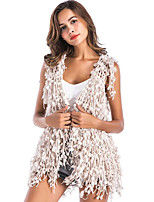 cheap -Sleeveless Acrylic Wedding Party / Evening Women's Wrap With Tassels Vests
