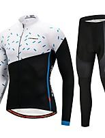 CYCOBYCO Велокофты и лосины Универсальные Длинные рукава Велоспорт Наборы одежды Одежда для велоспорта Сохраняет тепло Зимние виды спорта