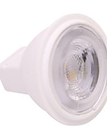 2W MR16 LED Spotlight 3 leds SMD 2835 Warm White Cold White 180lm 2800-3500;5000-6500K AC/DC 12V