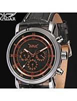 Jaragar Муж. Повседневные часы Модные часы Нарядные часы Наручные часы С автоподзаводом Кожа Группа На каждый день Cool