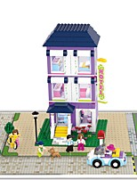 Building Blocks Toys Castle Garden Theme Architecture Alice in Wonderland Kids Adults' Pieces