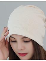 Для женщин Очаровательный На каждый день Широкополая шляпа,Осень Зима Хлопок Скрол