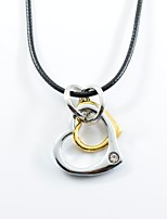 Women's Pendant Necklaces Heart Stainless Steel Alloy Love Fashion Jewelry For Daily Casual