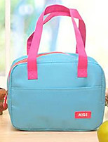 cheap -Women Bags Oxford Cloth Tote Zipper for Casual All Season Black Dark Blue Fuchsia Sky Blue