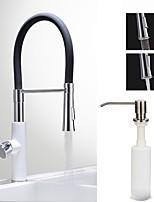 cheap -Centerset Ceramic Valve Chrome , Kitchen faucet
