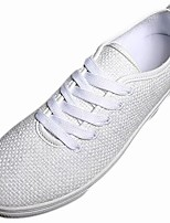 cheap -Men's Shoes Fabric Spring Fall Comfort Sneakers For Casual Yellow Black White